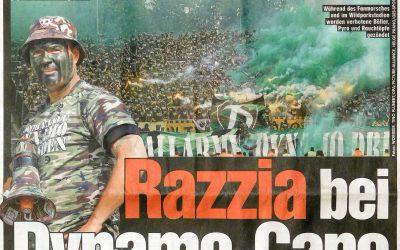 Razzia bei Dynamo-Capo und Fanprojekt | BILD