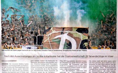 Großrazzia bei Dynamo-Ultras | DNN