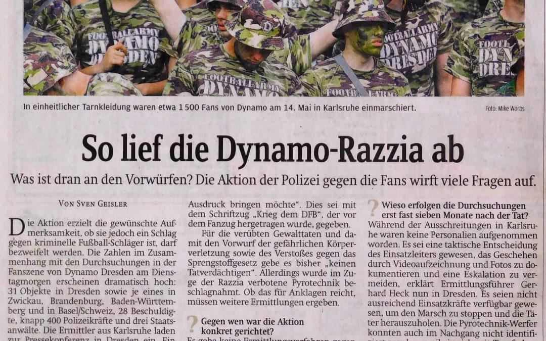 So lief die Dynamo-Razzia ab | SZ