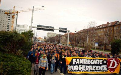 Dynamofans gehen für Fanrechte auf die Straße