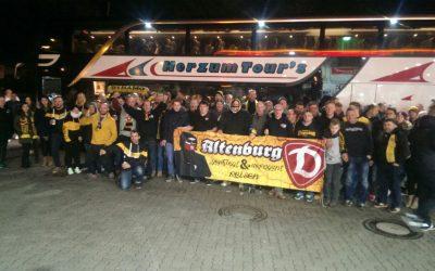 Altenburger Dynamofans überraschen das SoKo