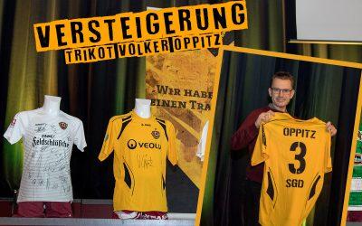 Versteigerung Trikot Volker Oppitz